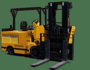 Specialized High-Capacity Very Narrow Aisle Swingmast®