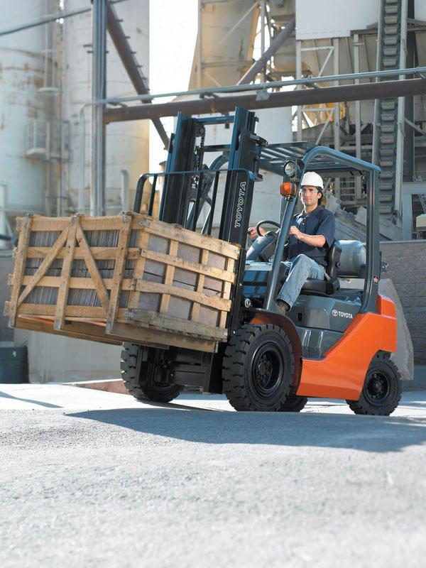 Forklift Tire Types