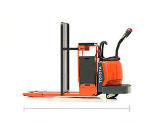 End-Controlled Rider Pallet Jack
