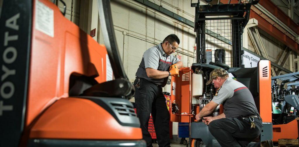 Genuine Toyota Forklift Parts & Accessories