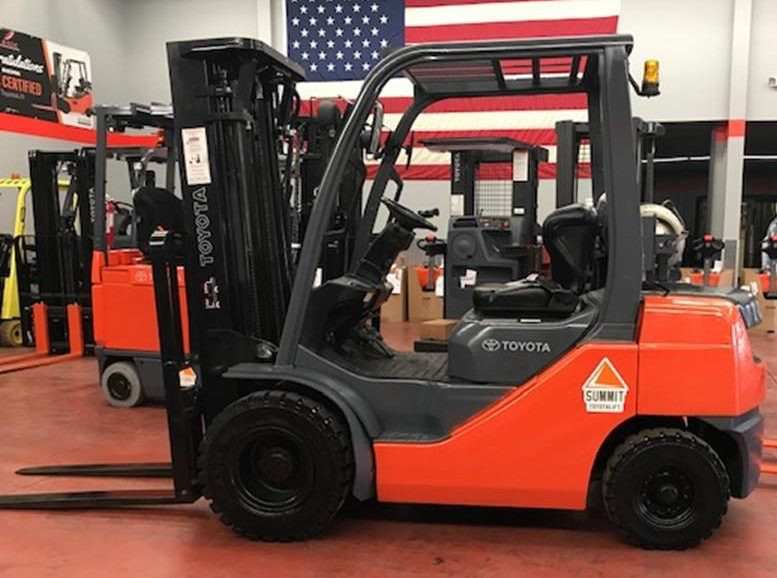 Used Toyota Outdoor Forklift