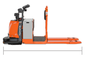 Center-Controlled Rider Automated Pallet Jack