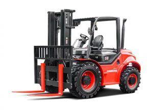 4-Wheel Drive Rough Terrain Large Capacity
