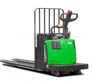 A Series End-Controlled Rider Pallet Jack Lithium-ion