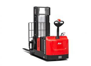 A Series Industrial Walkie Counterbalanced Stacker